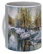Lake In The Winter Coffee Mug