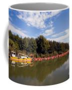 Lake Inlet With Dredger Coffee Mug