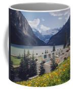 1m3520-h-lake Louise Chateau Coffee Mug