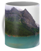 Panoramic Lake Louise, Alberta - Morning Reflections Coffee Mug