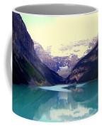 Lake Louise Stillness Coffee Mug by Karen Wiles