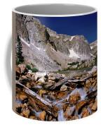 Lake Marie Snowy Range Coffee Mug