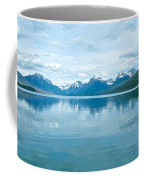 Lake Mcdonald Reflection In Glacier  National Park-montana Coffee Mug