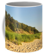 Lake Michigan Dunes 01 Coffee Mug
