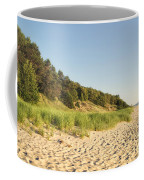 Lake Michigan Dunes 02 Coffee Mug