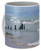 Lake Michigan Green Coffee Mug