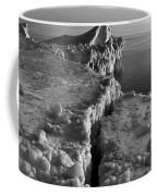 Lake Michigan Ice V Coffee Mug