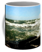 Lake Michigan In An Angry Mood Coffee Mug