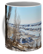 Lake Michigan In Ice Coffee Mug