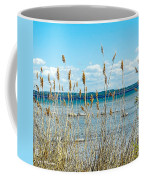 Lake Michigan Shore Grasses Coffee Mug
