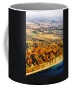 Lake Michigan Shoreline In Autumn Coffee Mug