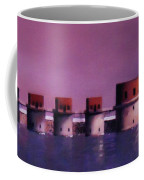 Lake Murray Towers In Evening Coffee Mug