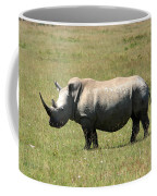 Lake Nakuru White Rhino Coffee Mug