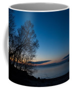 Lake Ontario Blue Hour Coffee Mug