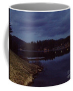 Lake Placid At Night Coffee Mug