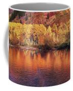 Lake Reflection In Fall 2 Coffee Mug