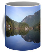 Buntzen Lake, Bc Reflections Coffee Mug