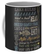 Lake Rules-relax Coffee Mug