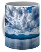 Lake Santeetlah In Great Smoky Mountains Nc Coffee Mug