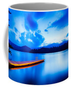 Lake Santeetlah In Great Smoky Mountains North Carolina Coffee Mug