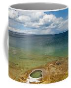 Lake Shore Geyser In West Thumb Geyser Basin Coffee Mug