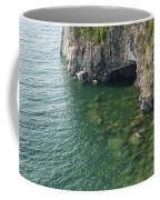 Lake Superior Cliff Scene 7 Coffee Mug