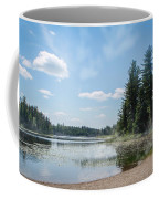 Up North - Lake Superior Misty Beach Coffee Mug