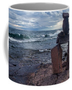 Show Me The Way - Lake Superior Rock Stack Coffee Mug