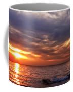 Lake Superior Sunset Panorama Coffee Mug