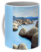 Lake Tahoe Rock Garden Coffee Mug