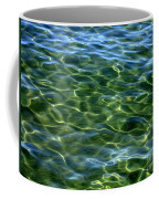 Lake Tahoe Swirls Abstract Coffee Mug