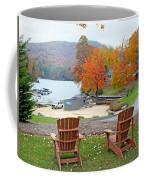 Lake Toxaway Marina In The Fall Coffee Mug