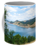 Lake View From Hwy 120 Rest Area Going Into Yosemite Np-ca- 2013 Coffee Mug