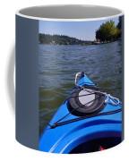 Lake View From Kayak Coffee Mug