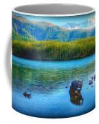 Lake View Of Mount Saint Helens  Coffee Mug