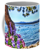 Lake View On Lake Tahoe By Diana Sainz Coffee Mug