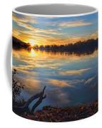 Memorial Park Sunset Coffee Mug