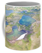 Lakes From The Seaplane In Katmai National Preserve-alaska Coffee Mug