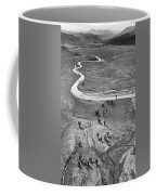 Lamar Valley Black And White Coffee Mug