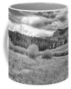 Lamar Valley Looking Towards Specimen Ridge Bw- Yellowstone Coffee Mug