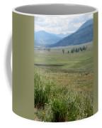 Lamar Valley Yellowstone National Park Coffee Mug