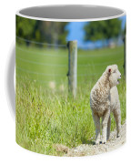 Lamb On The Farm Coffee Mug