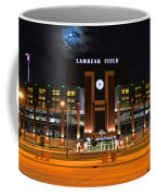 Lambeau Field At Night Coffee Mug by Tommy Anderson