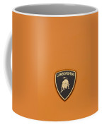 Lambo Hood Ornament Orange Coffee Mug