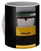 Lambo Logo Yellow Coffee Mug