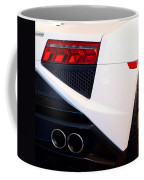 Lamborghini Gallardo Tail Light Pipes Coffee Mug