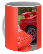 Lamborghini And Lotus Coffee Mug