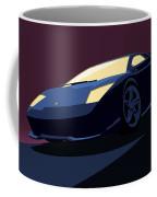 Lamborghini Murcielago - Pop Art Coffee Mug by Pixel  Chimp