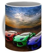 Lamborghini Triplet Coffee Mug