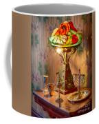 Lamp And Menorah Coffee Mug